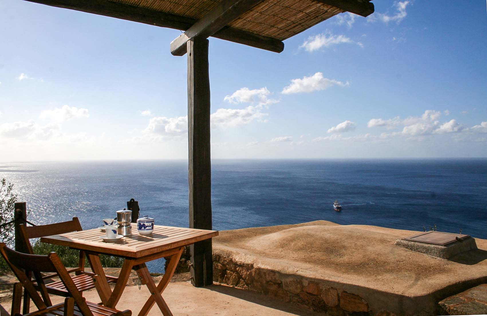 mare - the amazing equipped terrace with Seaview